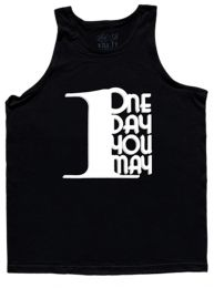 #19 Rich Piana 1DayUMay - Tank (Black/White)