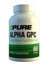 Pure Alpha GPC 300mg x 60 caps