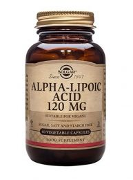 Solgar Alpha Lipoic Acid (120mg x 60 Caps)