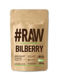 #RAW Bilberry (120 x 50mg Capsules)