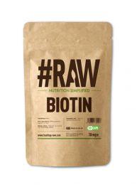 #RAW Biotin - 120 x 10mg V Caps