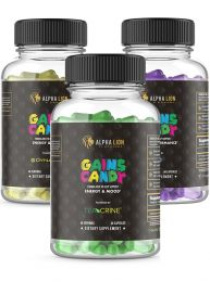 Alpha Lion Build Your Own Gains Candy Stack