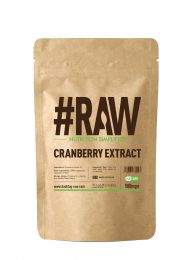 #RAW Cranberry Extract (240 x 500mg Capsules) BBE April 2020