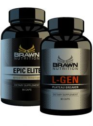Brawn Nutrition Epic Elite and LGen