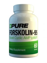 Pure Forskolin-95 (60 x 25mg)