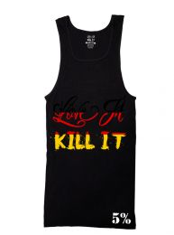 #81 Rich Piana Love It Kill It - German Flag Ribbed Tank