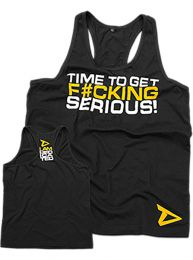 "Dedicated Nutrition ""Time To Get Serious"" Stringer"