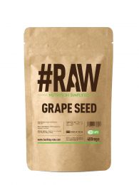 #RAW Grape Seed (120 x 400mg Caps)