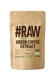 #RAW Green Coffee Extract (120 x 400mg Capsules) BBE 28/12/2019