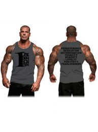 #26 Rich Piana 1DayUMay - Tank (Grey/Black)