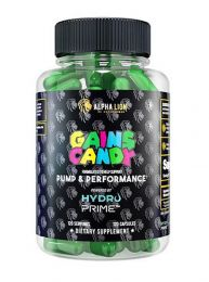 Alpha Lion Gains Candy Hydroprime™ (120 Capsules)
