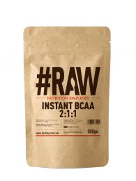 #RAW Instant BCAA 2:1:1 (500g) BBE April 2021