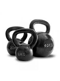 PowerMyself Cast Iron Kettlebell - 4kg