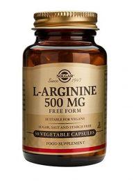 Solgar L-Arginine (500mg x 50 Capsules)