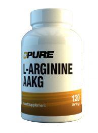 Pure L-Arginine AAKG (120 x 450mg)