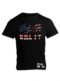 Rich Piana Love It Kill It T-Shirt - American Flag Design