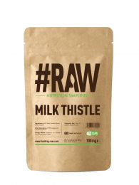 #RAW Milk Thistle (120 x 100mg Capsules)
