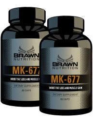 Brawn Nutrition MK-677 Stack -  (2 x 30 Caps)