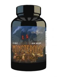 Immortal Strength Monsterous (120 Capsules)