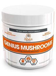 Genius Mushrooms (90 Capsules)