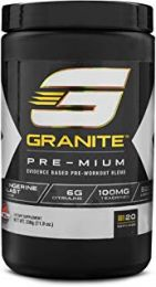 Granite Supplements PRE-MIUM (20 Servings)