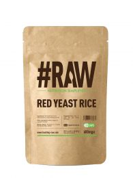 #RAW Red Yeast Rice (120 x 600mg Capsules) BBE 08/11/20