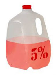 Rich Piana's 5% 1 Gallon Jug - Red