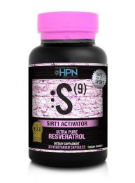 High Performance Nutrition S(9) - Ultra Pure Resveratrol