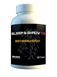 Brawn Elite Sleep & GHrow v2 (120 Capsules)