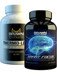Brawn Nutrition Thermo-Lean and Smart Focus Stack