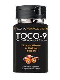 Iconic Formulation Toco-9 (60 Veggie Capsules) BBE 10/2020