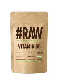 #RAW Vitamin B5 (120 x 500mg Capsules)