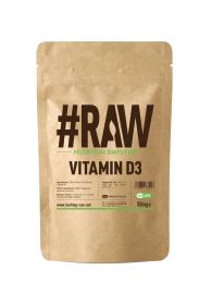 #RAW Vitamin D3 (240 x 50mg Caps) BBE 02/2021