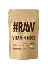 #RAW Vitamin MB12 Methylcobalamin - 120 x 1mg V Caps